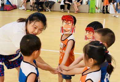 成都usba3-4岁幼儿篮球培训班