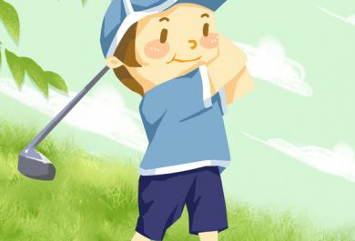 小孩打高尔夫球有什么好处?