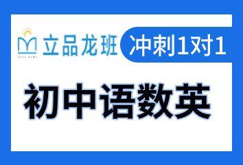 成都立品龙班初中语数英一对一补习班