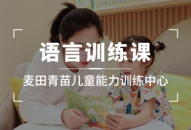 成都麦田青苗儿童语言培训班